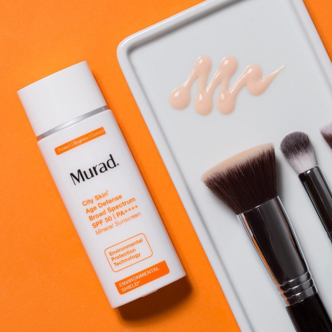City Skin Age Defense Broad Spectrum SPF 50 Kem chống nắng khoáng chất 5 tác động MuradVietnam 2
