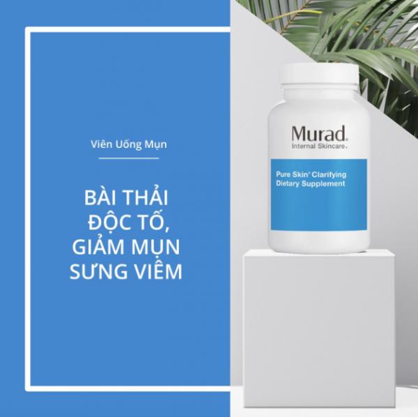 DÙng ViÊn UỐng GiẢm MỤn Murad Pure Skin Clarifying Dietary Supplement Bao LÂu ThÌ CÓ HiỆu QuẢ? 5e781f357ed71.png