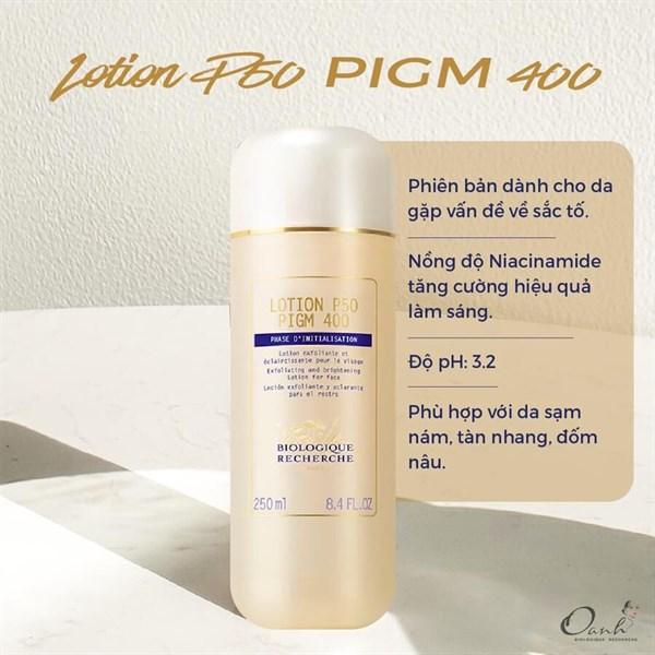 Lotion P50 Pigm 400 150mlvv