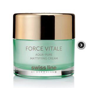 Fv Aqua Pure Mattifying Cream Kem đặc Trị Da Dầu, Da Mụn Và Phục Hồi Tổn Thương