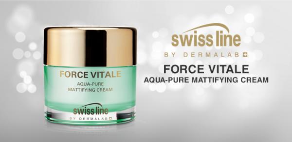 Fv Aqua Pure Mattifying Cream Kem đặc Trị Da Dầu, Da Mụn Và Phục Hồi Tổn Thươngvv