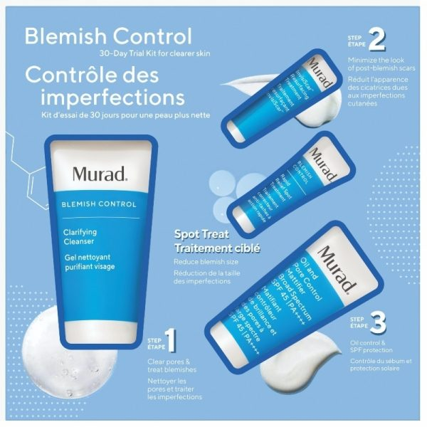 Murad Blemish Control 30 Day Trial Kit Limited Edition 1612950081